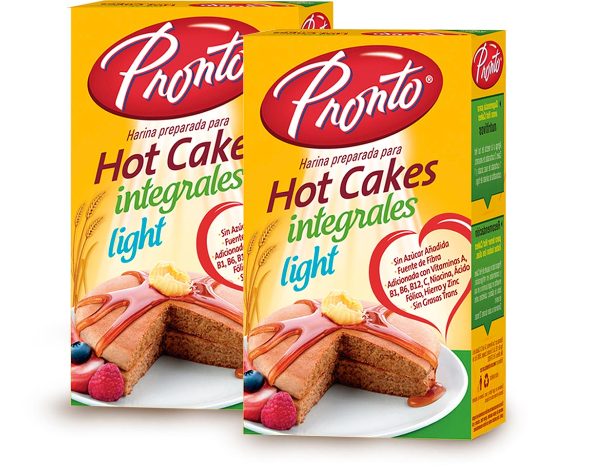 Hot Cakes Integrales Light Pronto