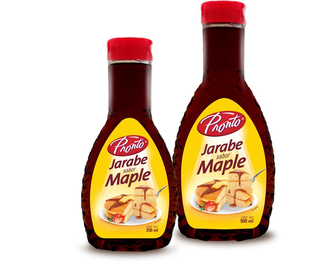Jarabe sabor maple Pronto